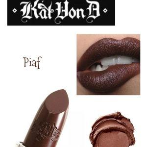 KVD Studded Kiss Creme Matte Lipstick Piaf